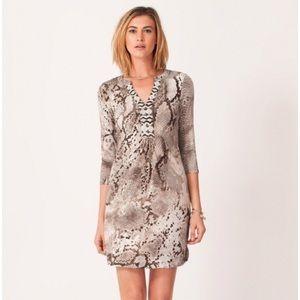 Hale Bob Lulie Jersey Dress Large